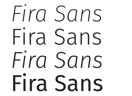 Fira Sans Sample